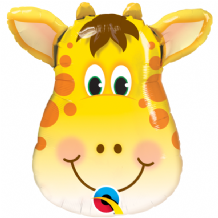 "Jolly Giraffe Foil Balloon (14"" Air-Fill) 1pc"